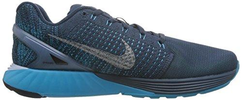 Running s Men Sqdrn Blue NIKE Shoes 7 Lunarglide Lgn bl Rflct Flash Plateado Azul Slvr X4Uwq