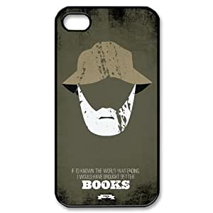 The walking dead iphone 4 4s case, zombie iphone 4 4s case, the walking dead cartoon iphone 4 4s case