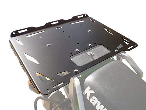Kawasaki KLR650 Aluminum Luggage Rack (1987-present) Rotopax ready