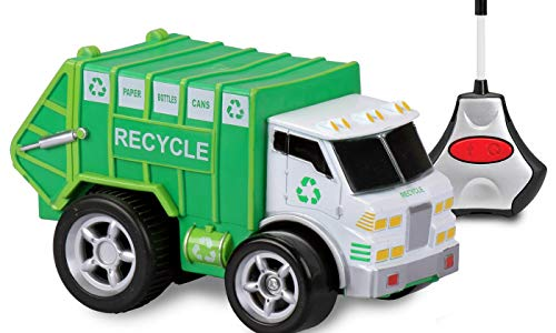 Kid Galaxy Soft and Squeezable Remote Control Recycle Truck Preschool (Remote Control Recycle Truck)