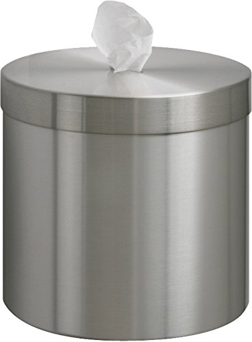 (Glaro W1015SA-WW1 Wall Mounted Disinfectant Wipe Dispenser - Satin Aluminum Finish - 1 Roll of Wipes Included)