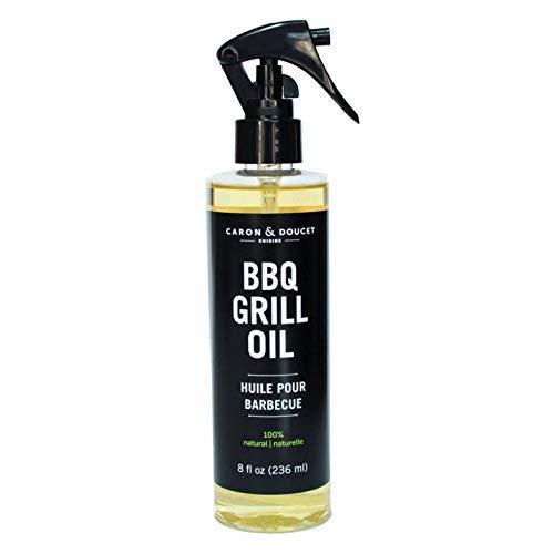 Caron & Doucet - BBQ Grill Cleaning Bundle - 2 Items, 100% Natural, Vegan, Biodegradable, Non-Toxic, Non-Corrosive, Environmentally Friendly (8oz)