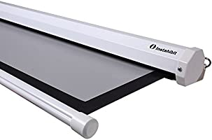 Instahibit 100 cm Diagonal 16: 9 Manual pantalla de proyección ...