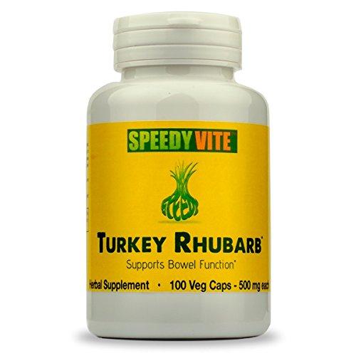 SpeedyVite® Turkey Rhubarb Formula - Supports Bowel Function* (1x 100 Veg ()