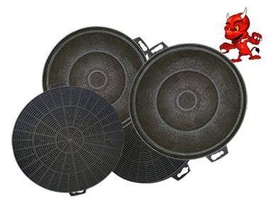 Mega spar set 4 aktivkohlefilter filter kohlefilter für
