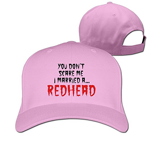 Runy Custom You Don't Scare Me I'm Redhead Adjustable Hunting