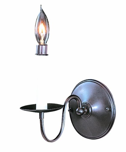 Framburg 9221 MB Jamestown 1-Light Wall Sconce, Mahogany Bronze - Framburg Traditional Sconce