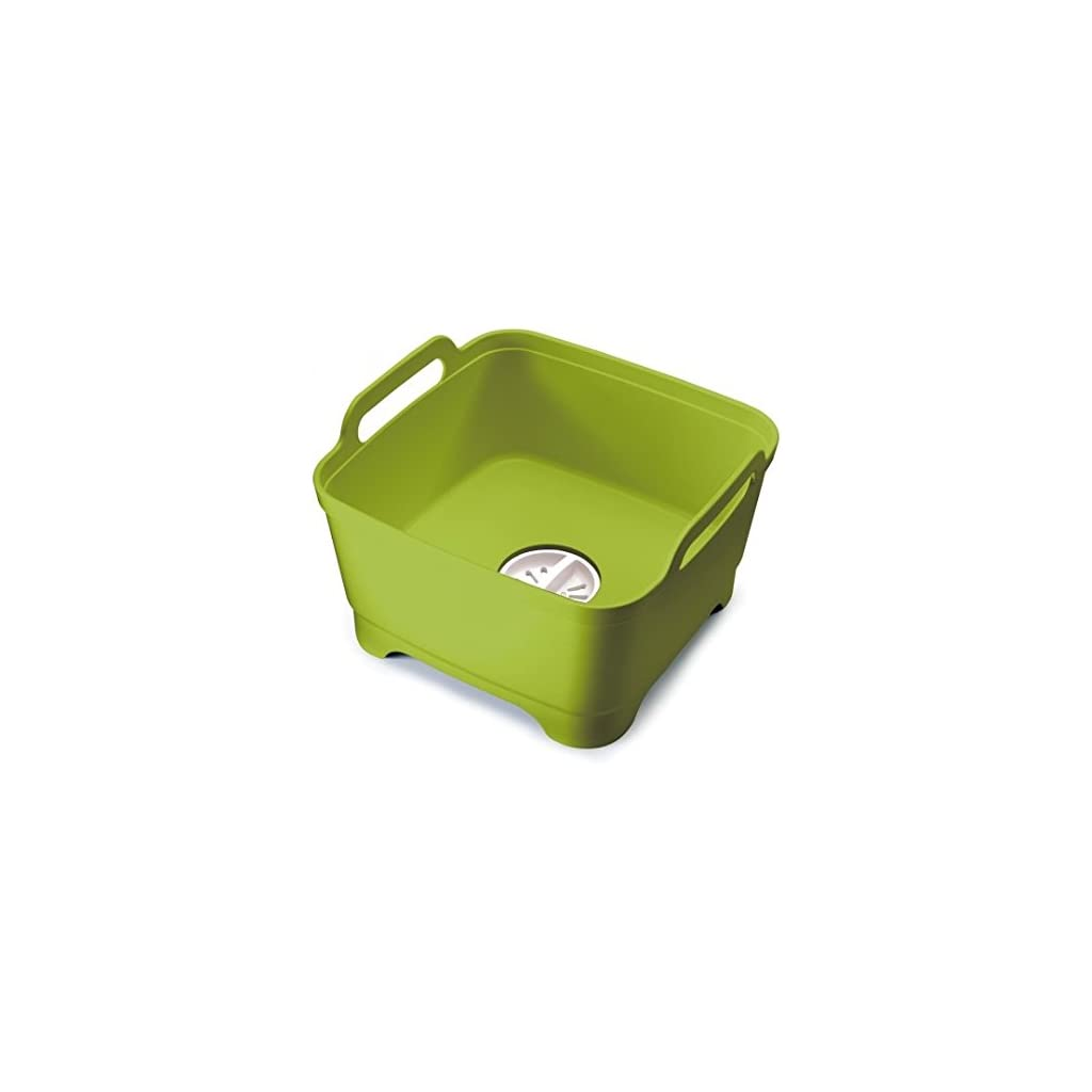 Joseph Joseph Wash & Drain Washing Up Bowl - Lime Green