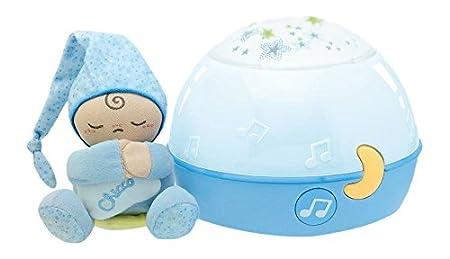 Chicco First Dreams Proyector con efecto de luz y música color azul