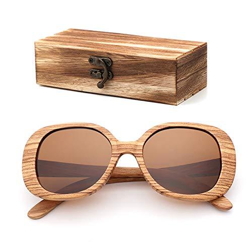 Wood box DABAOYA Fashion Polarized Wood Sunglasses for Women Handmade Natural Materials Butterfly Shape Glasses UV100