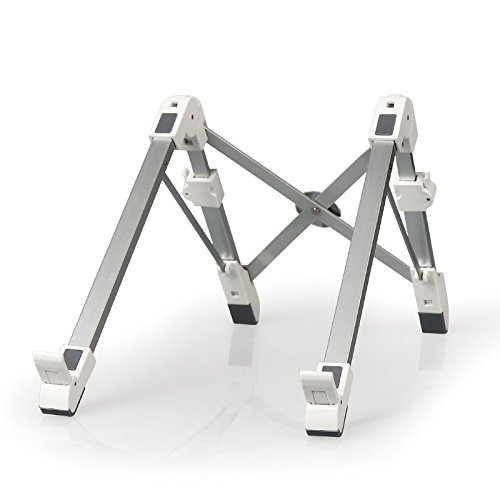 - Pano Aluminum Alloy Adjustable Laptop Stand Portable Desktop Computer Foldable Rack Holder Suitable for Notebook & Pad