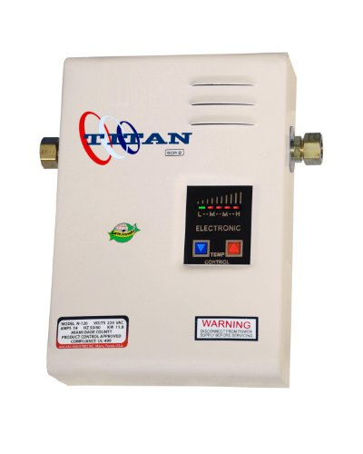 Titan® N-85 Electronic Digital Tankless Water Heater By Niagara Industries Inc. 29 Years in Business