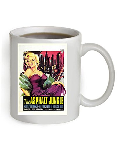 The Asphalt Jungle Movie Poster Coffee Mug By Ariel's Collection ()