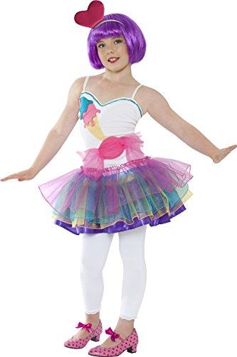 Candygirl Kleid Kostüm Mädchen Bonbonkleid 7-9 Jahre Gr. M