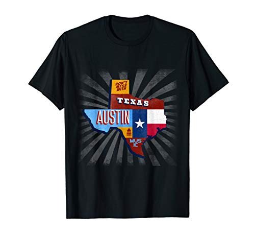 (Texas Funny Music Festival T-Shirt Don't Mess With Austin)