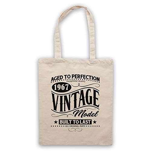 Born Vintage 1967 Natural Model amp; Art In Bolso Date Birth My Clothing Icon Year ZUwq0