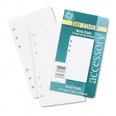 Lined Notes for Looseleaf Planners, 3-3/4 x 6-3/4, 48 Sheets per Pack [Set of 2]