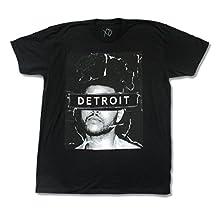 The Weeknd Detroit 2015 Event Mens Black T Shirt