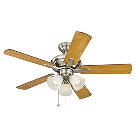 with cottage out ceiling nickel company style rustic hunter decorating subtle brushed light for design fan beach beachy fans a co outdoor