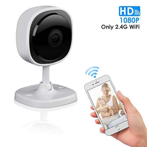 1080P Security Camera System Wireless, HAOSIHD Smart IP Camera with Full HD 1080P Lens, 2 Way Audio,Motion Detection,Cloud Service,Night Vision for Home/Baby/Pet Monitor with iOS/Android App