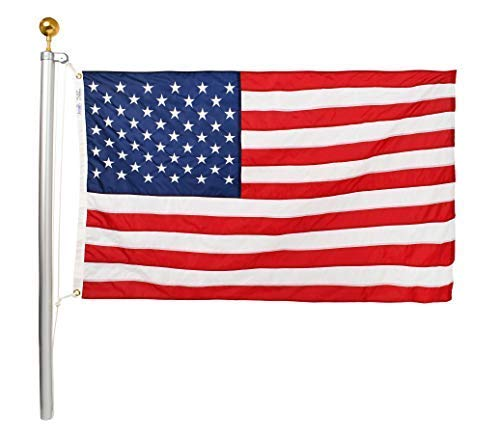 Ezpole Flagpoles Classic Flagpole Kit, 21-Feet