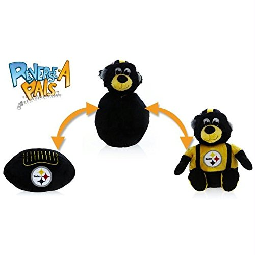 Fabrique Innovations NFL Reverse-A-Pal Toy, Pittsburgh Steelers