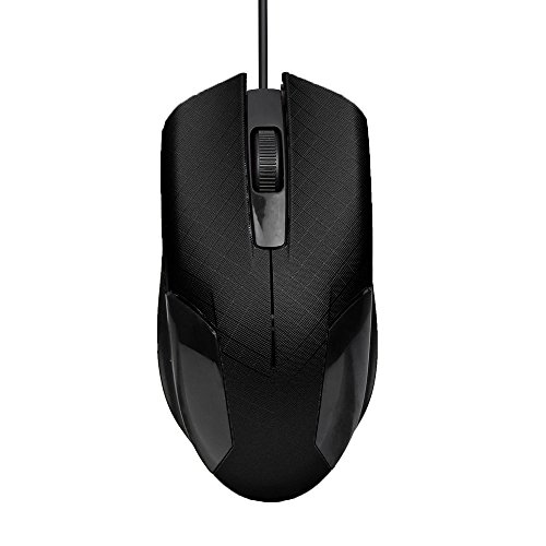 Foutou Optical Wired Mouse Black