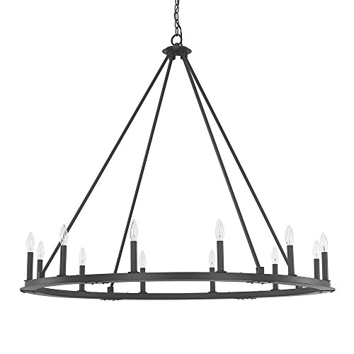 Capital Lighting 4912BI-000 12 Light Chandelier from Capital Lighting