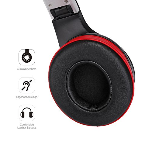AUSDOM AH2 On-Ear Bluetooth 4.0 EDR Stereo Base Headphones