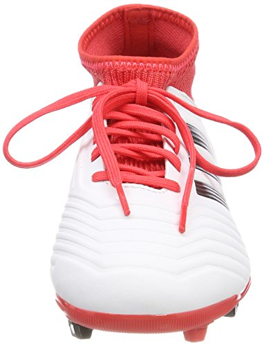 ftwbla Chaussures Football Fg 000 Predator De 18 Adidas Negbas Blanches Unisex Strap Adultes 3 J ngxqP