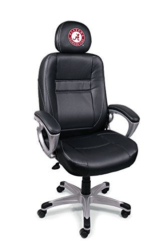 NCAA College Alabama Crimson Tide Leather Office Chair