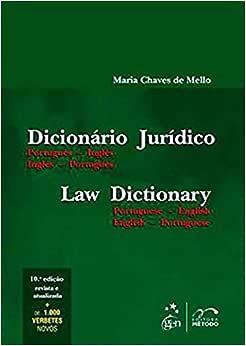 Dicionário Jurídico - Português-Inglês - Inglês-Português