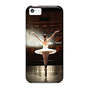 Tpu Cases Covers For Iphone 5c Strong Protect Cases - Ballerina Design Black Friday