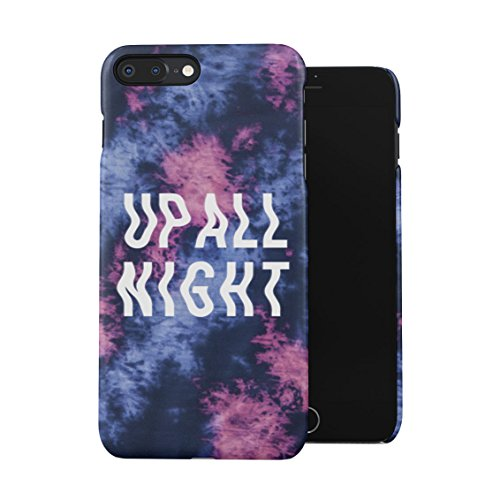 Trippy Up All Night Rave Fest EDM Plastic Phone Snap On Back Case Cover Shell For iPhone 7 Plus & iPhone 8 Plus