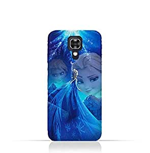 LG X Screen TPU Protective Silicone Case with Frozen Elsa Design