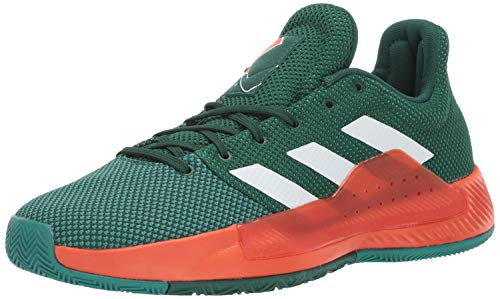 online store 026c2 f8d20 adidas Mens Pro Bounce Madness Low 2019, Dark WhiteActive Green, ...