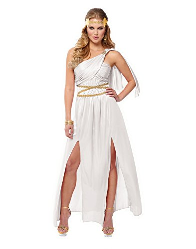 Costume Culture Roman Empress Adult Costume (Medium) White ()