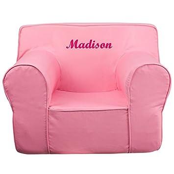 Tremendous Amazon Com Flash Furniture Personalized Oversized Solid Creativecarmelina Interior Chair Design Creativecarmelinacom
