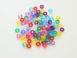 Mini Rings Bird/parrot Toy Parts 100 Pieces 5/8\