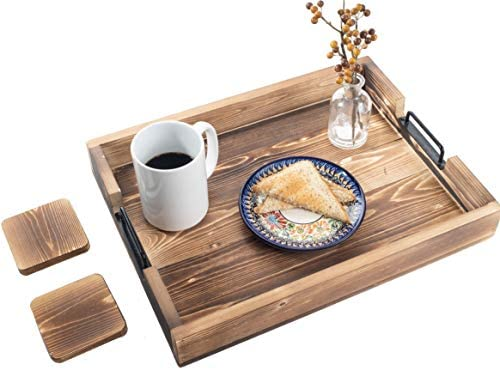 Amazon Com Premium Home Serving Tray Large Food Serving Tray