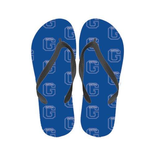 Glenville Ladies Full Color Flip Flops Primary Logo