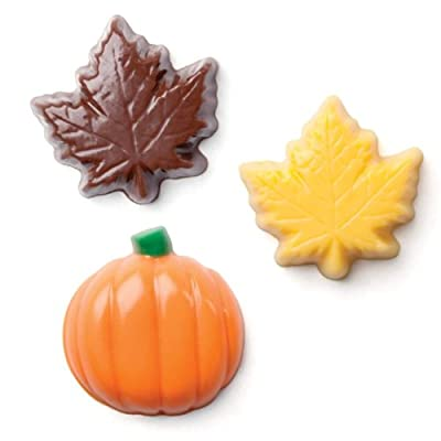 Make N' Mold Dress My Cupcake Leaf and Pumpkin Mix Candy Mold