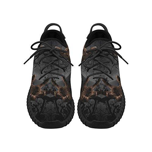 D-story Zombie Mano Grus Uomo Traspirante Tessuto Scarpe Da Corsa Rafforzare Scarpe Sneakers