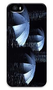CaseandHome Floating Umbrellas Design PC Material Hard Case for iphone 5/5s