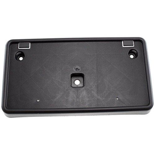 License Plate Bracket for GRAND CHEROKEE 04-10 FRONT Black