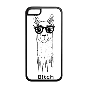 Unique Design Alpaca Pattern Hard Back Case Cover Shell for IPhone 5C