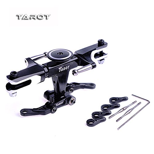 HITSAN Tarot 450 PRO Flybarless System Metal Head Rotor Black TL45110-01 One Piece