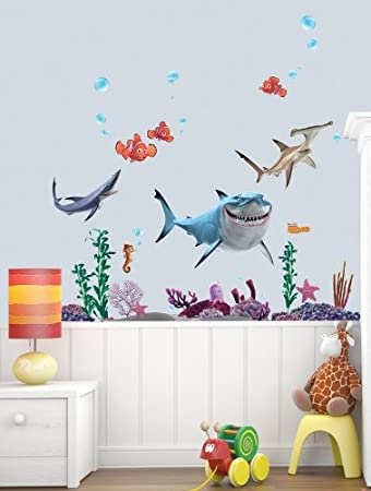 Finding Nemo And Shark Wall Stickers DD 08397