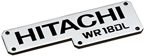 - Hitachi 326466 Hitachi Label WR18DL Replacement Part