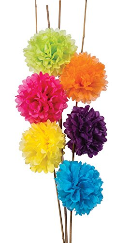 Luna Bazaar Tissue Paper Pom Poms  - For Baby Showers, Nurse